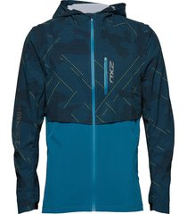 ghst woven 2 in 1 jacket-m outerwear sport jackets blå 2xu