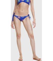 parte inferior bikini desigual bottom azul
