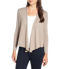 women's nic+zoe four-way cardigan, size x-large - beige