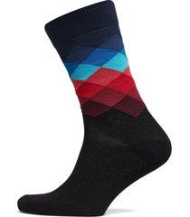 faded diamond sock underwear socks regular socks multi/mönstrad happy socks