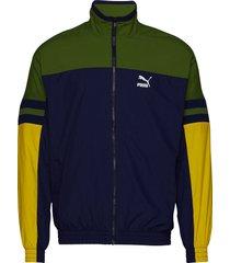 puma xtg woven jacket outerwear sport jackets multi/mönstrad puma