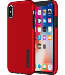 estuche para iphone x incipio dual pro - rojo