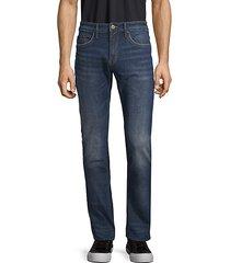 slim-fit logo jeans
