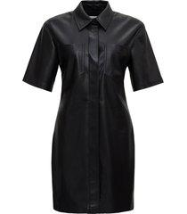 nanushka vegan leather dress
