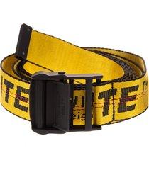 off-white woman yellow mini industrial belt