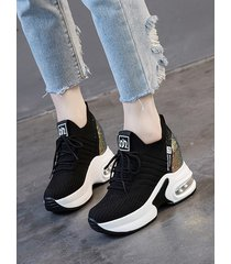 zapatos de malla transpirable calzado casual
