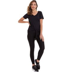 calã‡a legging preta brilho multicolorido - multicolorido/preto - dafiti