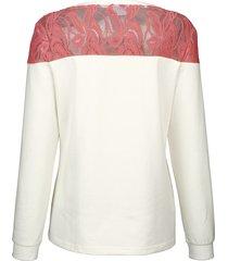 sweatshirt dress in korall