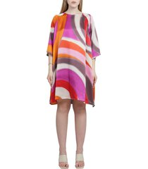 gianluca capannolo printed lucille dress