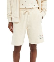 scotch & soda men's terry cloth shorts, size small in kit at nordstrom