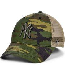 '47 brand new york yankees camo branson mvp cap