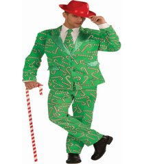buy seasons men's christmas - candy cane suit costume