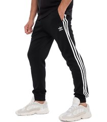 pantalón de buzo adidas originals sst tp negro - calce regular