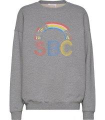 top sweat-shirt tröja grå see by chloé