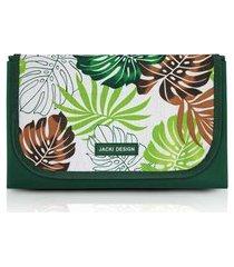tapete para piquenique impermeável jacki design tropicália verde .