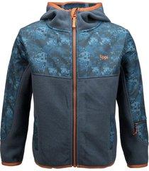 chaqueta grillo therm-pro azul noche lippi