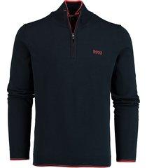 hugo boss pullover zimex met rits rf 50416976/410
