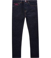 c17 - cedixsept jeans kaihara c-slim straight fit japanese selvedge denim jeans | indigo | c17a2009-1186