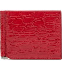 dolce & gabbana folding wallet - red
