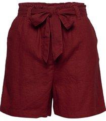 sc-ina shorts paper bag shorts röd soyaconcept