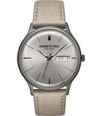 reloj beige kenneth cole new york