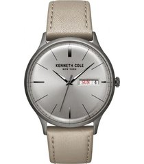 reloj beige kenneth cole new york
