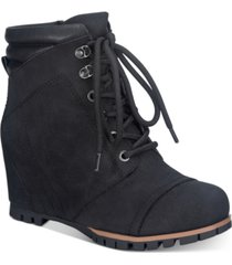 sun + stone lizzie booties, created for macy's women's shoes