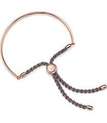 monica vinader fiji mink bracelet - gold