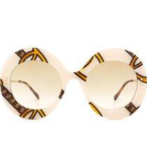 gucci gucci gg0894s ivory sunglasses