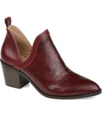 journee collection women's terri booties women's shoes
