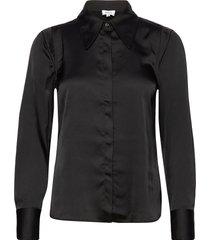 peggy shirt blouse lange mouwen zwart twist & tango
