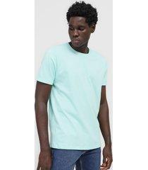 camiseta colombo logo verde - verde - masculino - algodã£o - dafiti