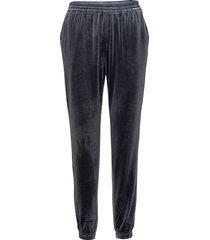 wilhelmina sweatpants mjukisbyxor blå minimum