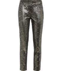 pantaloni con rivestimento metallizzato (nero) - bodyflirt
