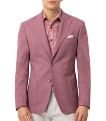 tallia orange men's slim-fit mauve sport coat