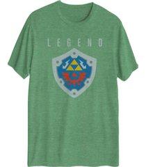 hybrid men's zelda shield t-shirt