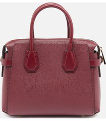 michael michael kors women's mercer belted small satchel - dark berry