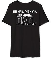 dad legend men's graphic t-shirt