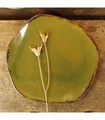 oliwkowy talerz