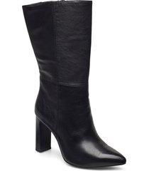 woms boots shoes boots ankle boots ankle boot - heel svart tamaris