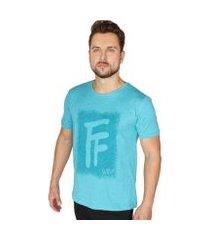 camiseta básica rajada suffix masculina