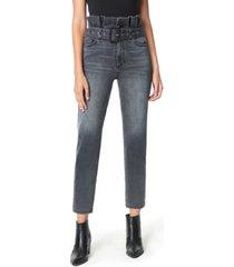sam edelman dani ruffle-waist jeans