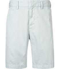 save khaki united bermuda shorts - blue