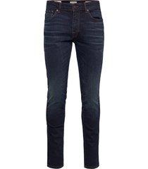 slhslim-leon 6231 db super st jns j noos slimmade jeans blå selected homme