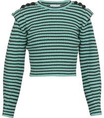self-portrait striped sweater