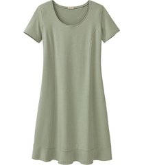 comfortabele jurk van bio-jersey, bleekgroen 42