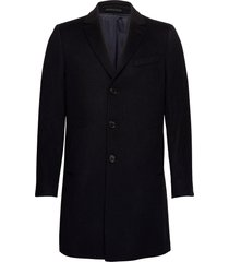 cashmere coat - sultan relax yllerock rock svart sand