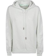 off-white diagonal long hoodie