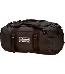 kitmonster duffelbag 65, svart