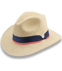 sombrero panama hat fino herraje moneda - martín pescador